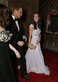 Kate Middleton and Prince William on the red carpet at the BAFTA Brits to Watch event in LA.
