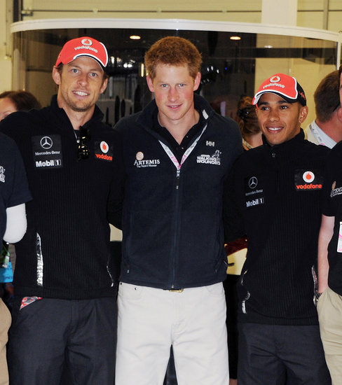 Prince Harry Hangs With His Rumored Flame's Former Boyfriend at the British Grand Prix