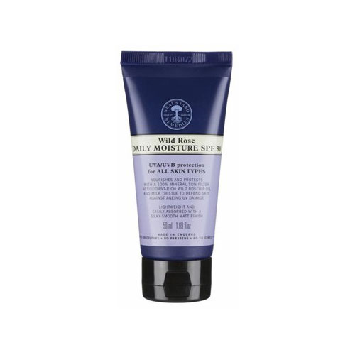 Neal's Yard Remedies Wild Rose Daily Moisture SPF 30 (£23.50)