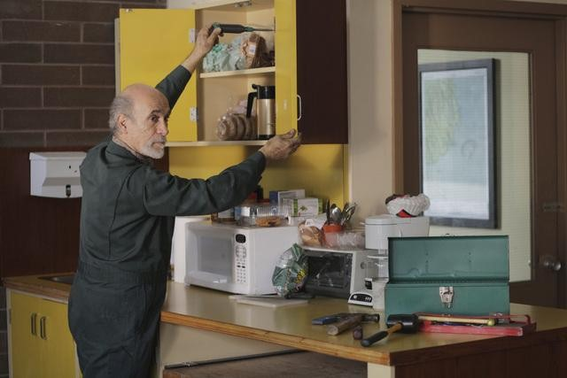 Tony Amendola on ABC's Once Upon a Time.  Photo copyright 2011 ABC, Inc.
