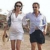 Pregnant Carla Bruni Pictures Swimming With Nicolas Sarkozy