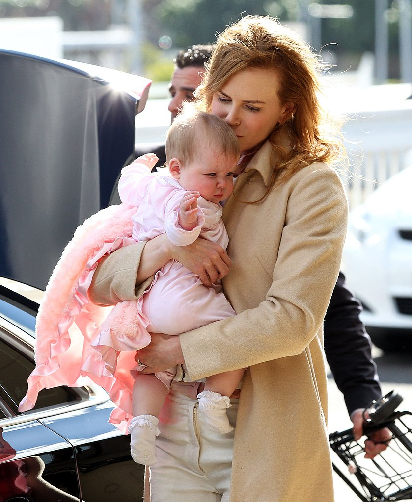 Nicole Kidman held onto Faith in Australia.