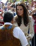Kate Middleton spoke to residents of Yellowknife, Northern Territories.