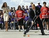 Prince William got sporty in Yellowknife, Northern Territories.