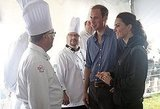 Kate Middleton and Prince William chatted with chefs and took part in a Mi'kmaq smudging ceremony on July 4.