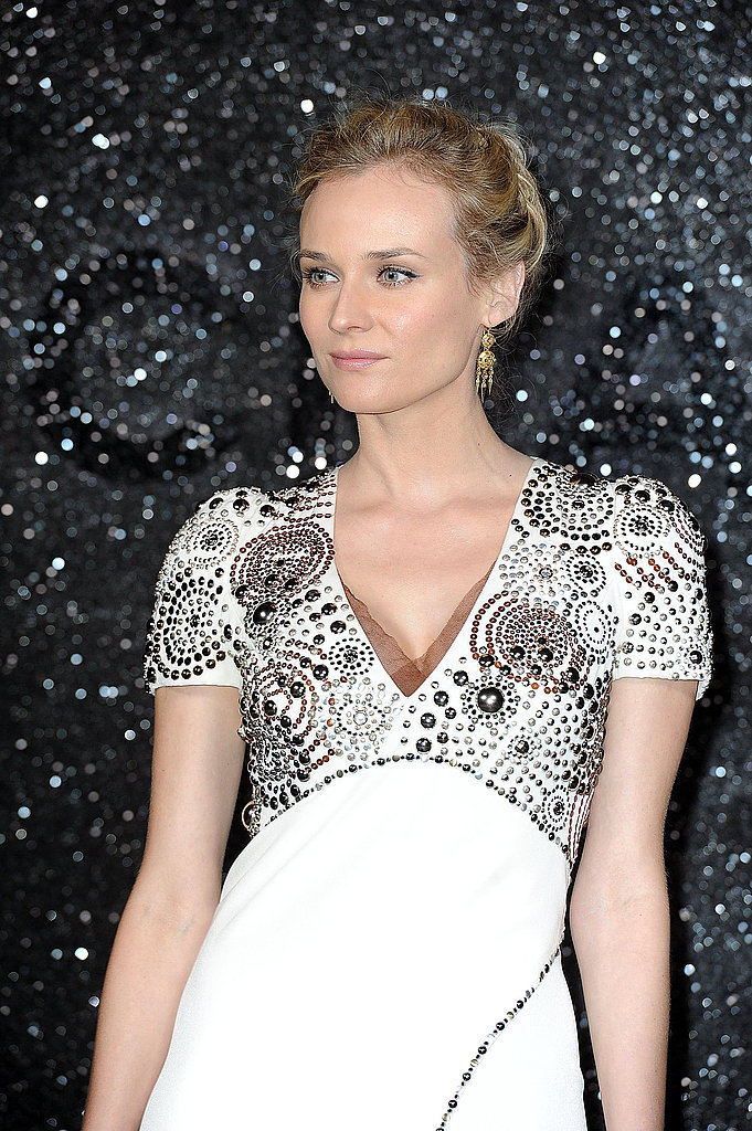 Diane Kruger in white at Chanel.