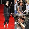 Katie Holmes Pictures Kissing Tom Cruise and at an Armani Fashion Show
