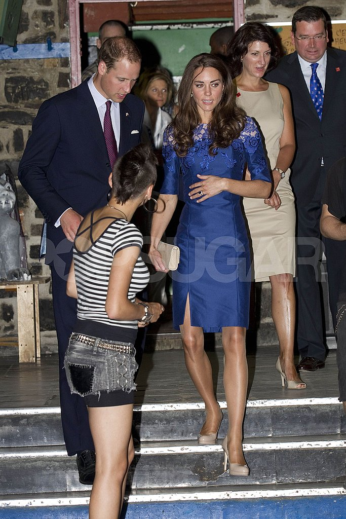 Prince William and Kate Middleton visited Maison Dauphine.