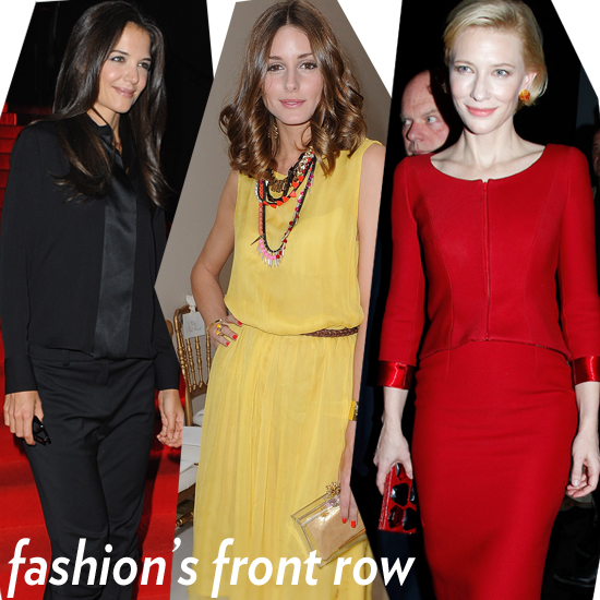 Fashion's Front Row Gathers For Haute Couture Week