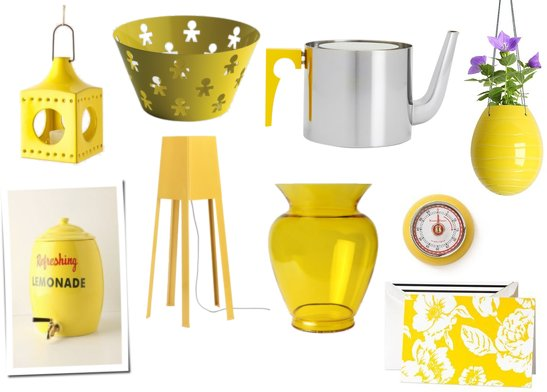 Yellow home decor popsugar home - Home accessories yellow ...