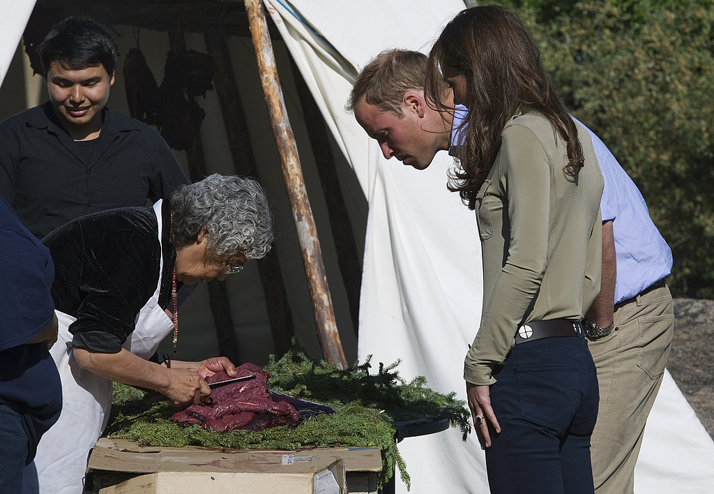Kate Middleton and Prince William Are In Sync For a Canadian Canoe Ride