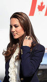 Kate Middleton in Canada.