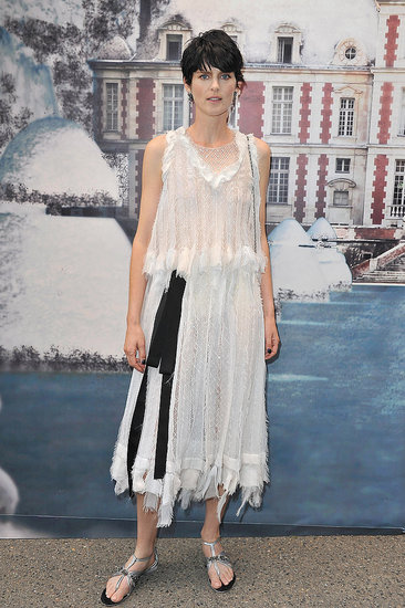 Stella Tennant in Chanel couture