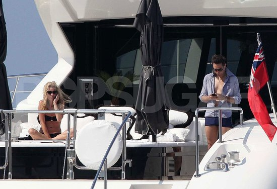 Kate Moss and Jamie Hince honeymooned in the French Riviera.