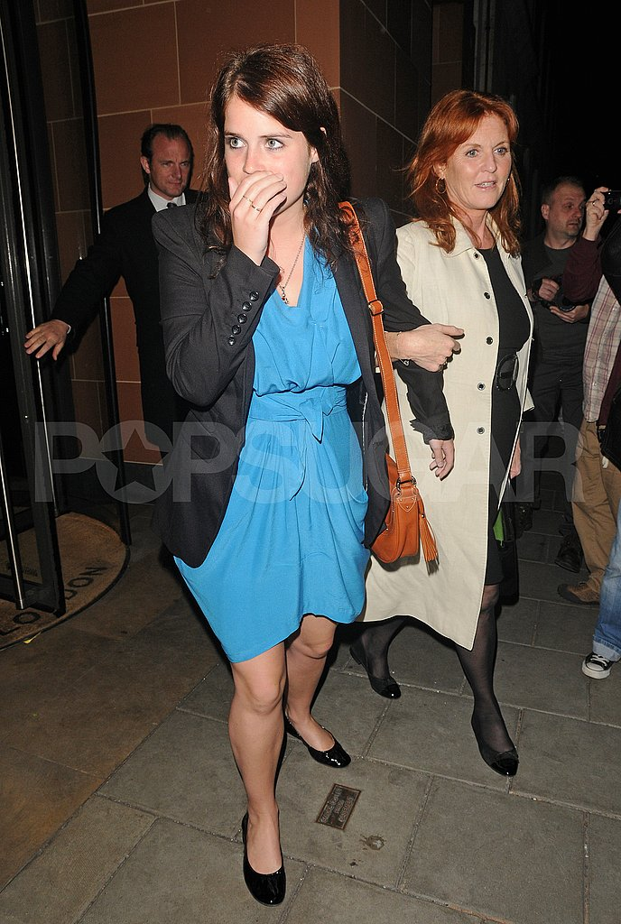Princess Eugenie and Sarah Ferguson Have a High-Spirited Night Out