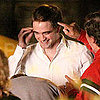 Robert Pattinson Cosmopolis Set Pictures