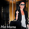Victoria Beckham with Harper Seven: Pregnancy Style