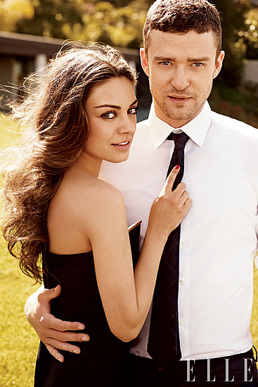 Mila Kunis and Justin Timberlake Get Dressed Up (and Steamy) For Elle