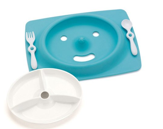 Skip Hop Mate Feeding Plate and Utensils
