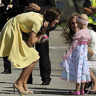 Kate Middleton Visits Girl For Make-a-Wish Foundation