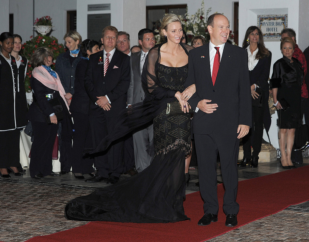 Monaco's Princess Charlene and Prince Albert Enjoy a Not-So-Private Honeymoon