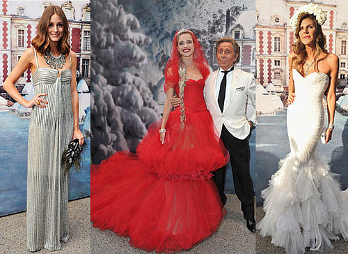 See the Super Chic Celebrity Crowd at The White Fairy Tale Love Ball inc Anne Hathaway, Olivia Palermo and Natalia Vodianova!