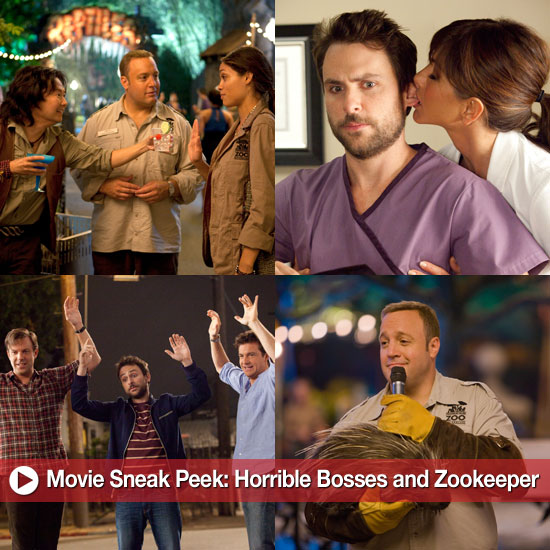Movie Sneak Peek: Horrible Bosses and Zookeeper