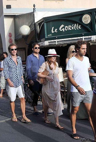 Princess Beatrice and Her Boyfriend, Dave Clark, Summer in St. Tropez With Friends