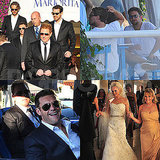 Leo, Bradley, Gerard, and More Celebrate Producer Ryan Kavanaugh's Capri Wedding!