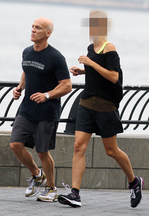 Guess Which Celeb Went Running With Trainer David Kirsch?