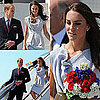Prince William and Kate Middleton Arrive at LAX Pictures