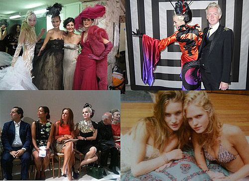 This Week's Best TwitPics Starring Natalia Vodianova, Erin Heatherton, Karl Lagerfeld and Megan Gale!