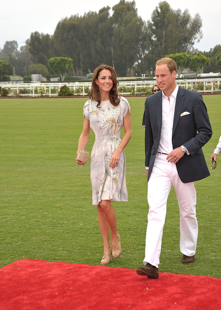 Prince William and Kate Middleton left LA for Santa Barbara.