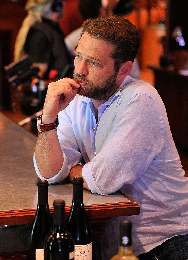 Jason Priestley at Beringer Vineyards in Napa.