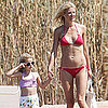 Gwyneth Paltrow Bikini Pictures in Italy With Apple and Moses