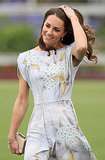 Kate Middleton on Santa Barbara polo fields.