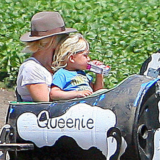 Gwen Stefani With Kingston and Zuma at Underwood Farm