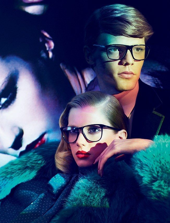 A Look at Gucci's Moody Fall 2011 Ad Campaign with Joan Smalls and Abbey Lee Kershaw