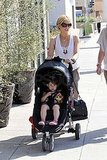 Sarah Michelle Gellar and Charlotte Prinze enjoyed a girls' day out in LA.