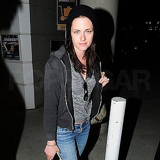Kristen Stewart Pictures Arriving at LAX