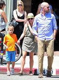 Reese Witherspoon Has a Family Lunch Following Her Royal Run-In