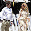 Rachel Zoe and Rodger Berman Out to Lunch in LA Pictures