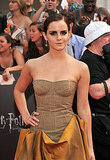Emma Watson at the Harry Potter and the Deathly Hallows Part 2 premiere in NYC.