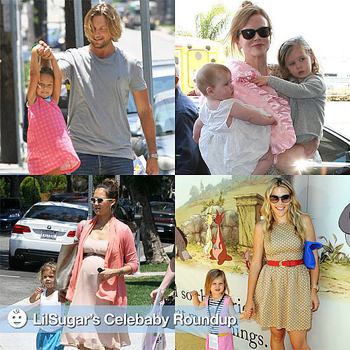 Celebrities With Their Children Pictures 2011-07-11 16:45:13
