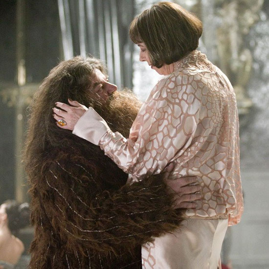 Hagrid and Maxime