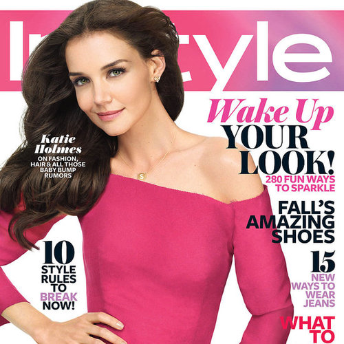 Katie Holmes on August 2011 Cover of InStyle Magazine