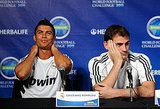 Cristiano Ronaldo and Iker Casillas talked with press.