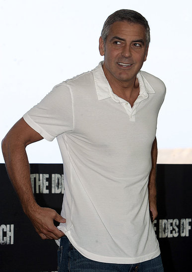 Single George Clooney Steps Out Postsplit For The Ides of March in Cancun
