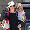 Jennifer Garner, Violet, and Seraphina at Books and Cookies