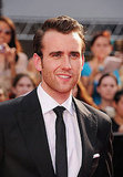 Matthew Lewis shows off his suited look at the Harry Potter and the Deathly Hallows Part 2 NYC premiere.